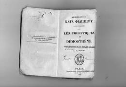 LES PHILIPPIQUES DE DEMOSTHENE , Par J. Planche , 1825  ,  Frais Fr : 3.50 - Books, Magazines, Comics