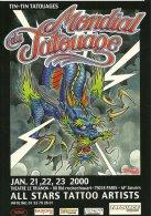 TATOUAGE TATTOO  MONDIAL TATOUAGE PARIS JANVIER 2000 DRAGON EDI. CART'COM - Schöne Künste