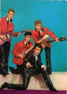 LES CHATS SAUVAGES Avec DICK RIVERS  Photo : SAM LEVIN   BON ETAT  Années 60 - Singers & Musicians