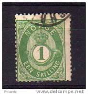 Norvège N° 16 Oblitéré - Cote 45€