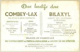BUVARD - Produits Parmacieutiques -  Laboratoire Roland Marie Paris COMBOLAX Bilaxil - Un Peu Sale - Chemist's