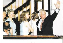 Repro 1998 - An Emotional Moment For The Last Governor, Chris Patten Bid Farewell To Hong Kong End Of British Rule - Chine (Hong Kong)
