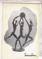 C1053 - CATALOGO MOSTRA SCULTURE GIUSEPPE TARANTINO - Circolo La Stampa Torino 1958 - Bronces