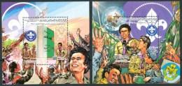 1982 Libia Scout Scoutisme Set 2 Block MNH** R - Libia