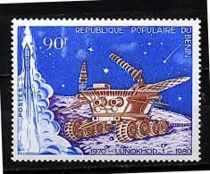S - Rep. Benin * N° 491 - 10e Ann. De Lunokhod 1 - Benin - Dahomey (1960-...)