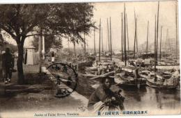 1PC TIENTSIN  Janks Of Paiho River - China