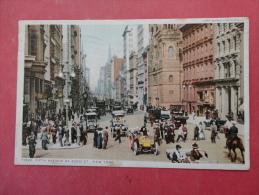 - New York > New York City  Fifth Avenue  At 42 Nd Street 1914  Cancel  --ref 969 - New York City