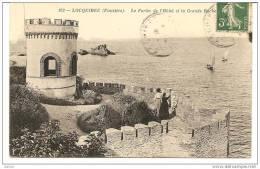 Locquirec (Finistère), Le Fortin De L´Hotel De La Grande Roche - Locquirec