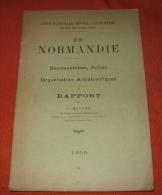 Ligue Contre L Alcoolisme En Normandie 1909 J Hayaux - Normandie