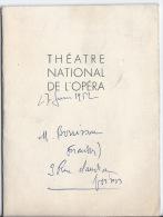 Prgramme Théatre National De L'opéra,les Indes Galantes - Programmes