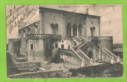 BARI CONVERSANO MARCHIONE CASTELLO CARTOLINA FORMATO PICCOLO VIAGGIATA - Italia