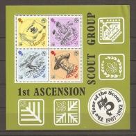 ASCENCION 1982 - SCOUTS - Yvert #H13 - MNH ** - Movimiento Scout