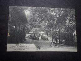 Liège-Cointe. Jardin De Plaisance De L'Etablissement Du Champ Des Oiseaux. Vue Prise Du Bas. Cachet Poste 1919 - Liege