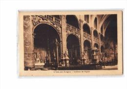 84 L'ISLE SUR SORGUE Eglise, Intérieur, Ed Albert, 193? - L'Isle Sur Sorgue