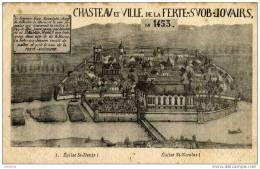 77-La FERTE-sous-JOUARRE- CHateau De L´Ile En 1453 - La Ferte Sous Jouarre