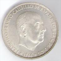 SPAGNA 100 PESETAS 1966 AG - [ 5] 1949-… : Regno