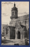 29 CHATEAUNEUF-DU-FAOU Eglise ; Charrette - Châteauneuf-du-Faou