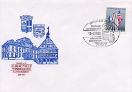 GERMANIA  -  WINNENDEN  PARTNERSCHAFT  ALBERTVILLE - [7] Federal Republic