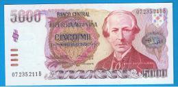 ARGENTINA  -  5000 Pesos Argentinos ND SC  P-318 - Argentinië