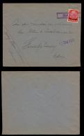 Lorraine 13-12-1940 - Griffe Encadrée Spicheren Sur Lettre Vers Strasbourg - Marcophilie (Lettres)