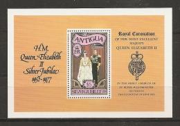 FAMILIAS REALES - ANTIGUA 1977 - Yvert #H28 - MNH ** - Familias Reales