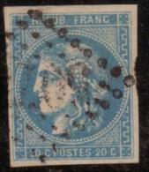 Emission De Bordeaux. 1870 - 1871. Lot N°34 E - 1870 Bordeaux Printing