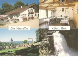 LES BRENETS (Suisse) - Restaurant Des Recrettes Chez Max ( Calendrier Au Dos De 1987 ) - Calendriers