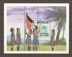 SCOUTS - ANTIGUA 1981 - Yvert #H56 - MNH ** - Movimiento Scout