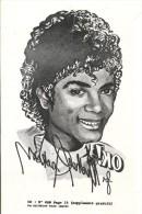 Rare Transfert Decalcomanie Michael Jackson - Journal OK ! - TBE - Musique & Instruments
