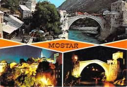 """(Bosnie-Herzégovine) MOSTAR (Timbre Stamp """"JUGOSLAVIJA"""" (Yougoslavie)(Editions :turistkomerc Zagreb N°1033)*PRIX FIXE - Bosnie-Herzegovine"""