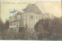 Rhône Alpes Rhône Haut Beaujolais Ouroux Saint  ( St ) Mamert  Le Châteu De Verbust - Andere Gemeenten
