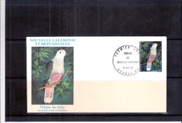 FDC Nouvelle-Calédonie - Ptilope De Grey (à Voir) - Perroquets & Tropicaux