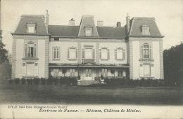 Rhisnes  - Château De Mévius -1904  ( Voir Verso ) - La Bruyère