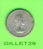 MONNAIES, CANADA - DIX CENTS, ELIZABETH II, 1962, VG-8 - - Canada