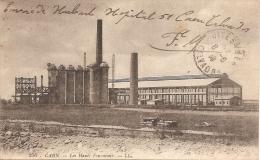 14 CAEN 1919 Les Hauts Fourneaux Cachet Hôpital Complémentaire 51 Centre Social De Réforme - Caen