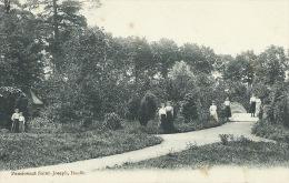 Bauffe - Pensionnat Saint-Joseph - Demoiselles Dans Le Parc- 1909  ( Voir Verso ) - Lens