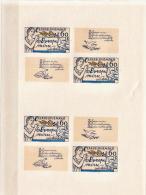 Czechoslovakia 3 MNH Imperforated Sheetlets - Blocks & Sheetlets