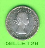 COINS, CANADA - 25 CENTS ELIZABETH II, 1964 - F-12 - - Canada