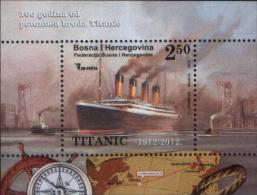 Bosnia And Herzegovina--2012 TITANIC MS  MNH(**) - Ships