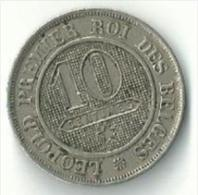 Belgique - Coin 10 Centimes Léopold I 1862 - 1831-1865: Léopold I