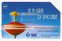 *ITALIA: SE TI GIRA DI SPICCARE* - Scheda Usata (variante Non Classificata) - Fouten & Varianten
