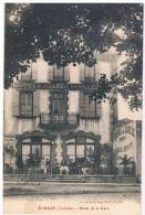 07- SARRAS- Hotel De La Gare (cliché Avec Le Chien Debout) - Ohne Zuordnung