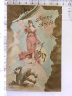 CPA Guerre 1914/1918 - EM 337 - Bonne Année 1917 - Patriotique - War 1914-18