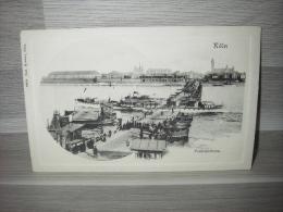 Köln - Pontonbrücke - Köln