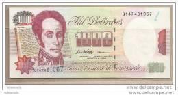 Venezuela - Banconota Non Circolata Da 1000 Bolivares - 1998 - - Venezuela