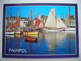 CP 22 Le Port En Fête à PAIMPOL - Rassemblement De  Voiliers Vieux Gréements Dans Le Bassin à Flot - Paimpol