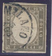 IV Emissione Di Sardegna N° 14 Ca - Firmato Oliva - Sardegna