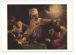 Art Peinture  Belshazzar S Feast --hebreu  - RECTO/ VERSO  ---E7 - Malerei & Gemälde