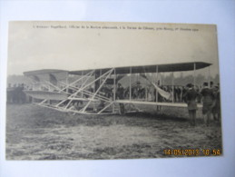 CPA Animée De L ' Aviateur Engelhard Officier De La Marine Allemande , à La Ferme De Clévant ... ( BON2 )  ( PHCP1989 ) - Aviation