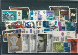 GB Great Britain Mixed Stamps, Mixed Condition (mostly MH, Some Used) - See Scan - Stamps